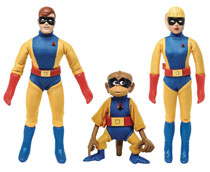 Image: Hanna Barbera Space Ghost Blip Jan & Jace 8-inch Action Figure 3 Pack Case  - Figures Toy Company