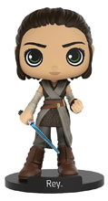 Image: Star Wars Wobblers Bobble-Head: Rey  - Funko