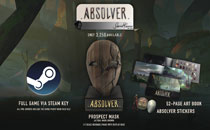 Image: Absolver-Piece Prospect Mask Special Edition Bundle Set  - Toynami Inc