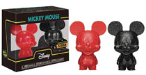 Image: Hikari Xs Disney Mickey Mouse Red/Black Figure 2-Pack  - Funko