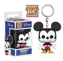 Image: Pocket Pop Disney Figure Keychain: Mickey Mouse  - Funko