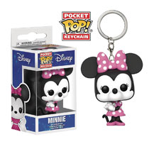 Image: Pocket Pop Disney Figure Keychain: Minnie Mouse  - Funko