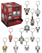 Image: Pocket Pop Nightmare Before Christmas Figure Keychain 24-Piece Blind Mystery Box Display  - Funko