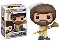 Image: Pop! Bob Ross Vinyl Figure  (in Overalls) - Funko