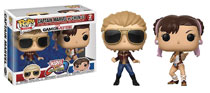 Image: Pop! Marvel vs. Capcom Vinyl Figure: Capt. Marvel vs. Chun-Li  (2-Pack) - Funko