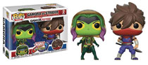 Image: Pop! Marvel vs. Capcom Vinyl Figure: Gamora vs. Strider  (2-Pack) - Funko