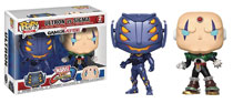 Image: Pop! Marvel vs. Capcom Vinyl Figure: Ultron vs. Sigma  (2-Pack) - Funko