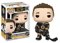 Image: Pop! NHL Series 2 Vinyl Figure: Brad Marchand  (Home Jersey) - Funko