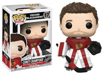 Image: Pop! NHL Series 2 Vinyl Figure: Corey Crawford  (Home Jersey) - Funko