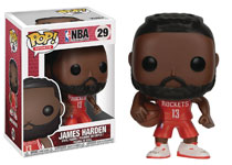 Image: Pop! NBA Vinyl Figure: James Harden  - Funko
