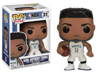 Image: Pop! NBA Vinyl Figure: Karl Anthony Towns  - Funko