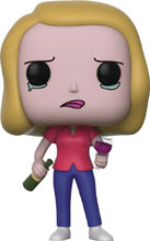 Image: Pop! Rick & Morty Vinyl Figure: Beth  (with Wine Glass) - Funko