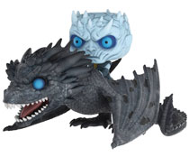 Image: Pop! Rides Night King on Dragon Vinyl Figure  - Funko