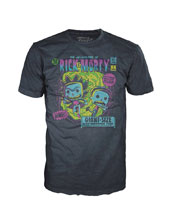 Image: Pop! Tees Rick & Morty T-Shirt: Strange  (M) - Funko