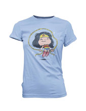 Image: Super Cute Tees - DC T-Shirt: Wonder Woman Jump Rope  (XS) - Funko