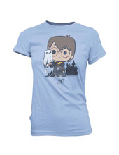 Image: Super Cute Tees - Harry Potter T-Shirt: Owl  (S) - Funko