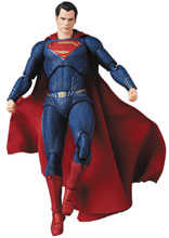 Image: Justice League MAF Ex Action Figure: Superman  - Medicom Toy Corporation