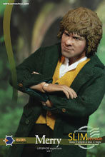 Image: Lord of the Rings Slim Series Action Figure: Merry  (1/6 scale) - Asmus Toys, Inc.