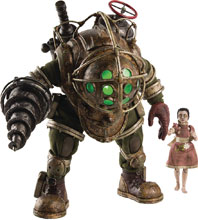 Image: Bioshock Figure: Big Daddy & Little Sister  (1/6 Scale) - Three A Trading Company Ltd