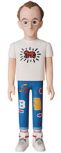 Image: Artist VCD Vinyl Collectible Doll: Keith Haring  - Medicom Toy Corporation