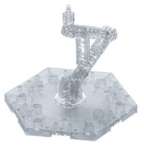 Image: Action Base 1/144 Model Base-5 Clear Box of 10  - Bandai Hobby