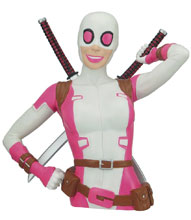Image: Marvel PVC Bust Bank: Gwenpool  - Monogram Products