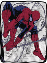 Image: Marvel Fleece Blanket: Ultimate Spider-Man  - Surreal Entertainment