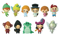 Image: Disney Peter Pan Cut Figural Keyring 24-Piece Blind Mystery Box Display  - Monogram Products