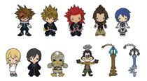 Image: Kingdom Hearts Series 3 Cut Figural Keyring 24-Piece Blind Mystery Box Display  - Monogram Products