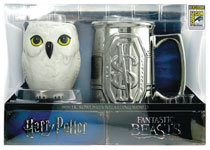 Image: Harry Potter / Fantastic Beasts Mug Set  (2-Pack) (SDCC 2017 exclusive) - Monogram Products