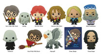 Image: Harry Potter Series 3 Laser Cut Figure Keyring 24-Piece Blind Mystery Box Display  - Monogram Products