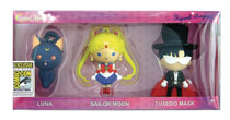 Image: Sailor Moon Figural Keyring 3-Pack  (SDCC 2017 exclusive) - Monogram Products