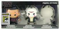 Image: Freddy vs. Jason Figural Keyring 3-Pack  (SDCC 2017 exclusive) - Monogram Products
