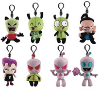 Image: Invader Zim Plush Hangers 24-Piece Blind Mystery Box Display  - Ucc Distributing