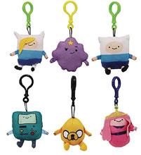 Image: Adventure Time Plush Hangers 24-Piece Blind Mystery Box Display  - Ucc Distributing