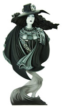 Image: Vampire Hunter D Bust  (limited monochrome variant) -