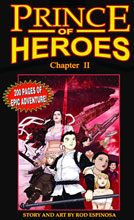 Image: Prince of Heroes Chapter 02 SC  - Antarctic Press