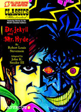Image: Classics Illustrated Vol. 07: Dr Jekyll & Mr Hyde HC  - Papercutz