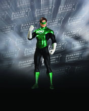 Image: Justice League Classic Icons Series 1 Action Figure: Green Lantern  - DC Direct