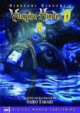 Image: Hideyuki Kikuchi's Vampire Hunter D Vol. 05 SC  - Digital Manga Distribution