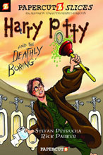 Image: Papercutz Slices Vol. 01: Harry Potty and the Deathly Boring SC  - Papercutz