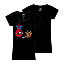 Image: Tokidoki x Marvel: Hanging Out T-Shirt  (Juniors - L) - Tokidoki
