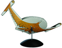 Image: Star Trek Model Kit Tin: Romulan Bird of Prey  -