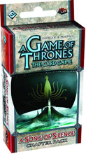 Image: Game Thrones LCG: Song Silence Chapter Pack  - Fantasy Flight Publishing Inc