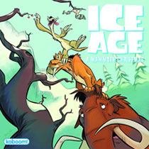 Image: Ice Age: Iced In  - Boom! Studios - Kaboom!