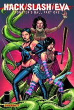 Image: Hack/Slash/Eva Vol. 01: Monster's Ball SC  - D. E./Dynamite Entertainment