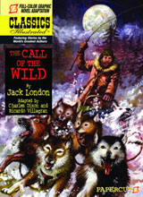 Image: Classics Illustrated Vol. 15: Call of the Wild HC  - Papercutz