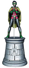 Image: DC Superhero Chess Figure Collector's Magazine #3 (Robin White Bishop) -