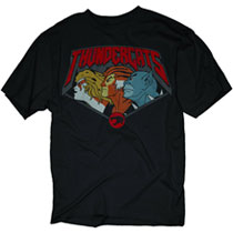 Image: Thundercats: Look One Way PX T-Shirt [Black]  (M) -
