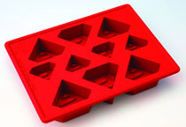 Image: Superman Silicon Ice Tray  - Kotobukiya